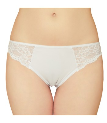 Floral Lace Knickers Briefs White 3213