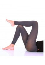 Opaque Microfibre Footless Tights Long Length 60 Denier