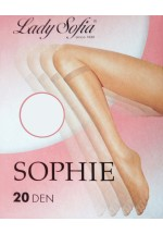 SOPHIE 20 Denier Sheer Knee High Pop Socks - 4 Pairs Pack