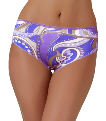 Lace Trimmed Boxers Shorts Lilac