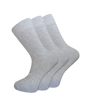 Cotton Rich Everyday Plain Socks - 3 Pairs Pack