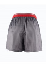 Fashion Loose Boxers Shorts Striped Graphite
