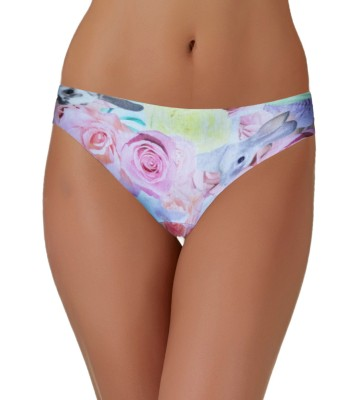 SIMPLY Minimum Seams Knickers Panties - Printed Rabbit