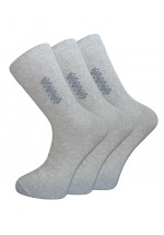Cotton Rich Striped and Detailed Socks - 3 Pairs Pack